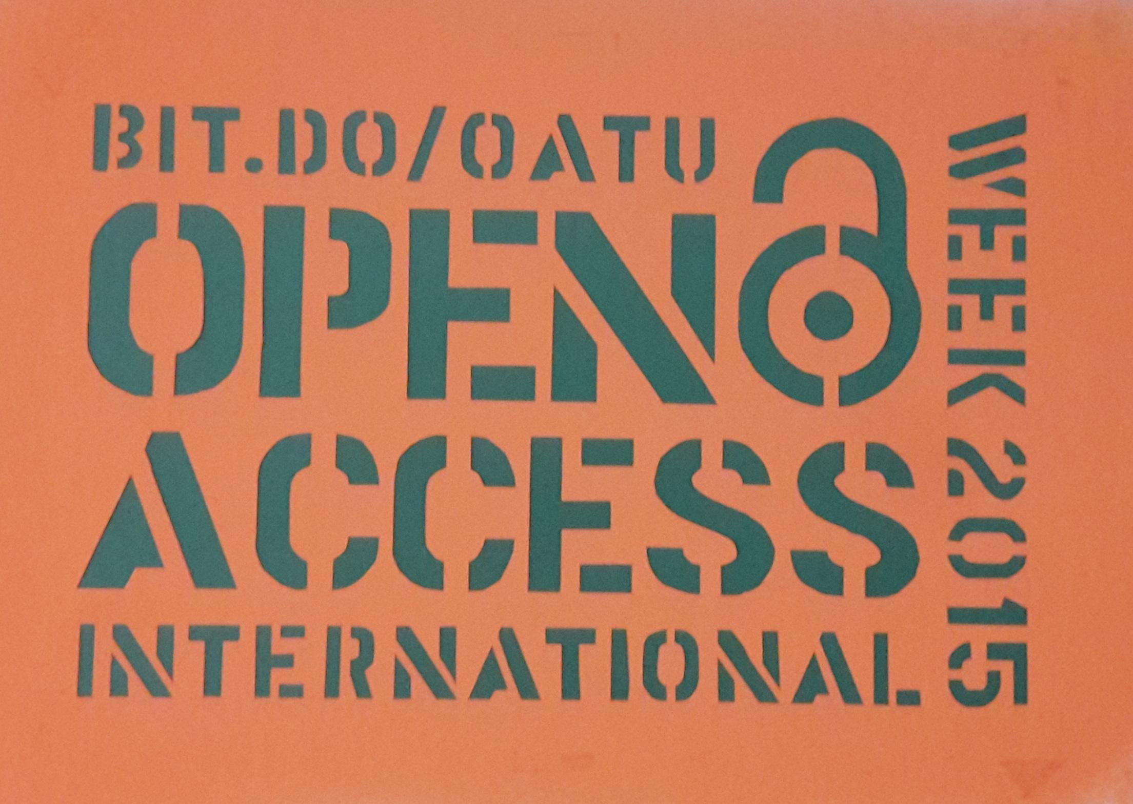 Internationale Open Access Week 2015 an der TU Berlin