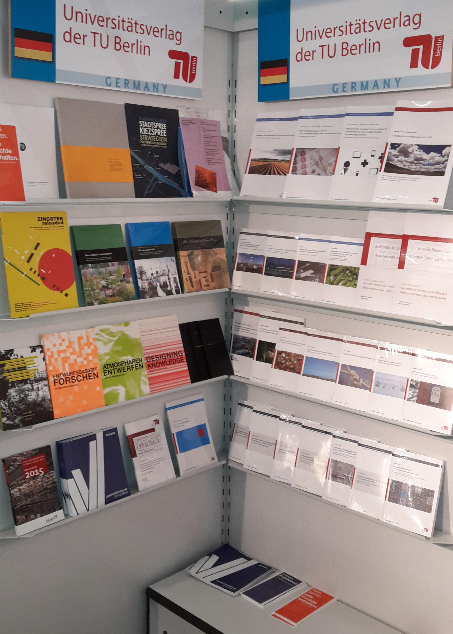Universitätsverlag der TU Berlin auf der Frankfurter Buchmesse 2016